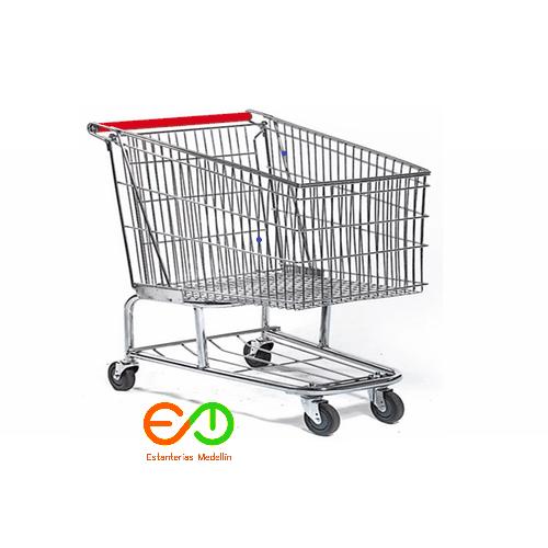 carro metalico para supermercados estanterias medellin