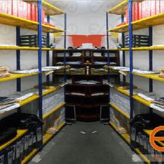 estanteria metalica para carga liviana