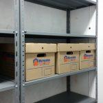 estanteria para cajas de archivo
