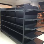 Gondolas metálicas para supermercados